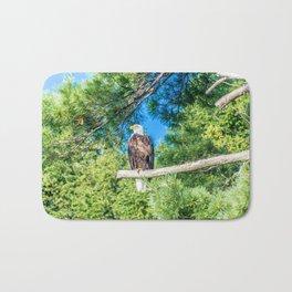 Bird of Prey Bath Mat