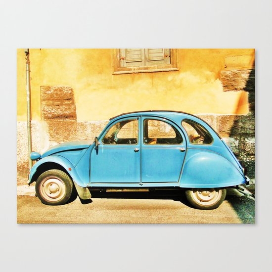 Vintage Citroen Canvas Print