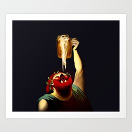 Inspired French Vintage Poster  Art Print
