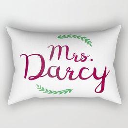 Mrs. Darcy Rectangular Pillow
