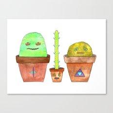 Magic Cacti Canvas Print