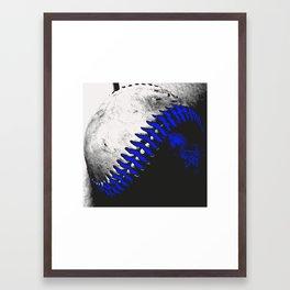 Baseball Pop Art 1 Framed Art Print