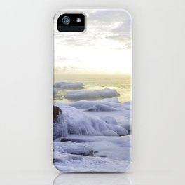 Frozen Sunrise iPhone Case