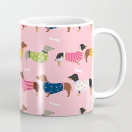 Dachshund doxie sweaters cute dog gifts dog breed dachsie owners must haves Coffee Mug