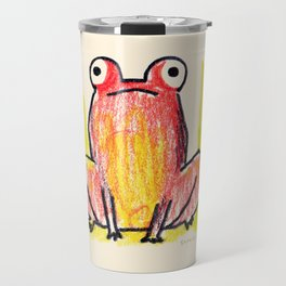 Red Frog Travel Mug