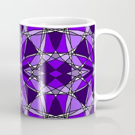 Violet Stained Glass Coffee Mug