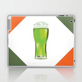 Green beer glass Laptop & iPad Skin
