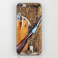 winchester iPhone & iPod Skins featuring Winchester Rifle by Captive Images Photography