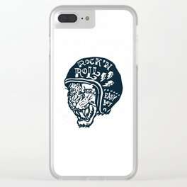 Easy Boy Clear iPhone Case