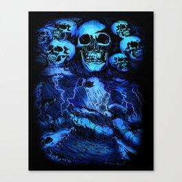 SKULLSTORM Canvas Print