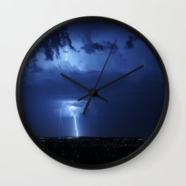 Wicked Storms Wall Clock