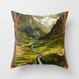 Hidden Valley Throw Pillow