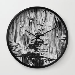 Photographic Abstraction 15 Wall Clock