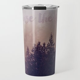 chase the fog Travel Mug