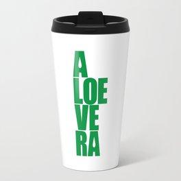 aloevera - keep calm and use aloe vera Travel Mug