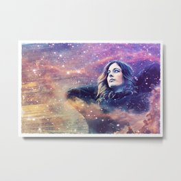 She is the Universe (Majesty) Metal Print