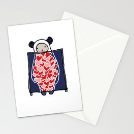Heart Scan Stationery Cards
