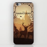 marauders iPhone & iPod Skins featuring The Marauders by sevillaseas