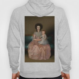 "Francisco Goya ""Condesa de Altamira and Her Daughter, María Agustina"" Hoody"