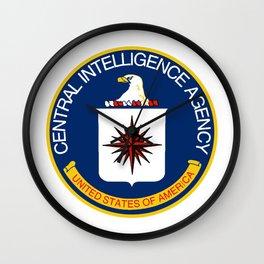CIA Logo Wall Clock