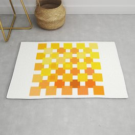 50 Squares of YELLOW - Living Hell Rug