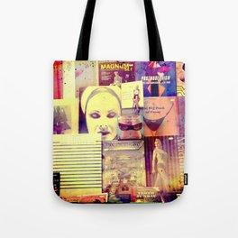 Pulp Fiction by Lika Ramati Tote Bag