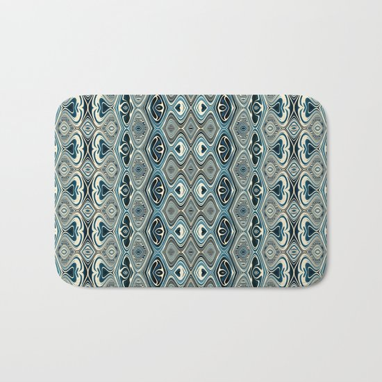 Abstract Pattern 16/1 Bath Mat