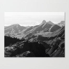 Chisos Mountains Canvas Print