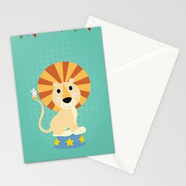 Circus Lion  Stationery Cards