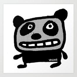 Graphic Panda! Art Print