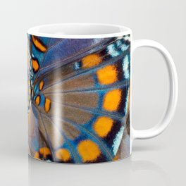 Fly With Me - Butterfly Wing Photography by Fluid Nature Coffee Mug