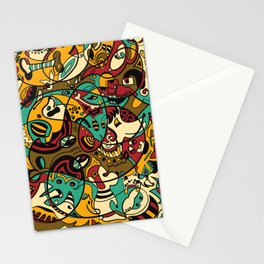 Dog - 12 ANIMAL SIGNS Stationery Cards