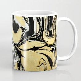 Black Gold ink Coffee Mug