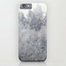 Snowing Trees iPhone 6s Slim Case