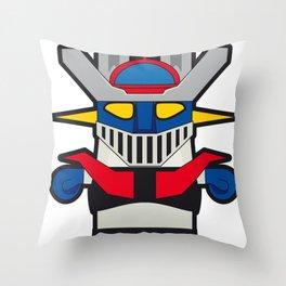 Sr. Trolo / Mazinger Throw Pillow