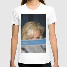 Girl With Umbrella T-shirt
