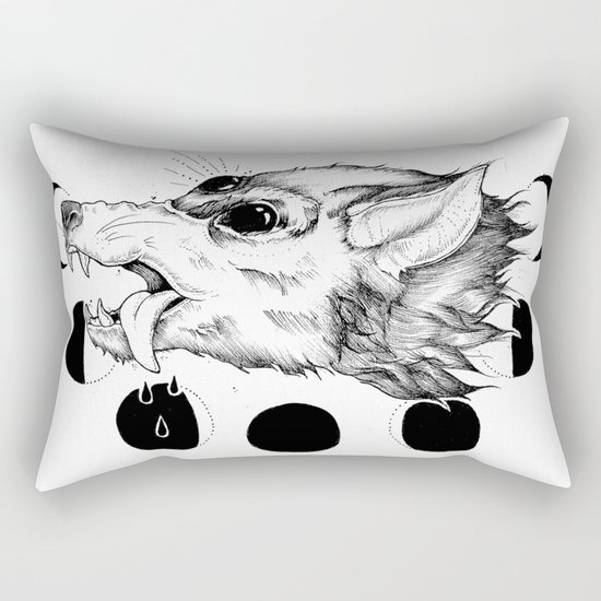 Hellhound Rectangular Pillow