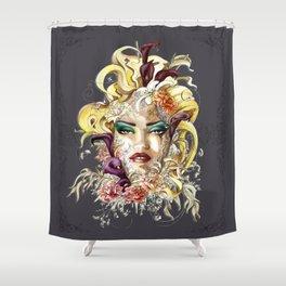 Vénéneuse Shower Curtain