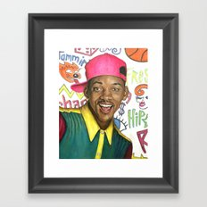 Fresh Prince of Bel Air - Will Smith Framed Art Print