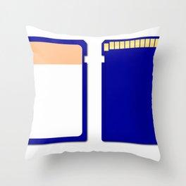 Memory Chip Throw Pillow