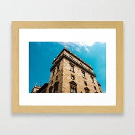 Valencian Architecture Framed Art Print
