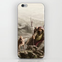 The travellers  iPhone Skin