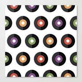 Vinyl times Canvas Print