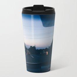 Driving into the sunset Travel Mug