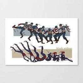 Sequential Canvas Print