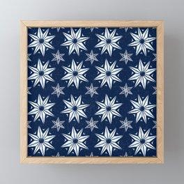 Christmas stars  Framed Mini Art Print