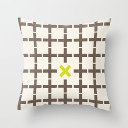 All plus - You multiply Throw Pillow