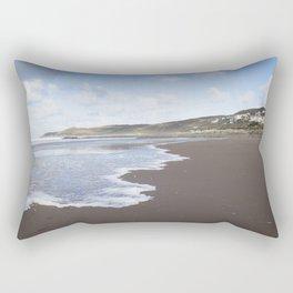 Seaside Town Rectangular Pillow