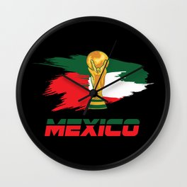 World cup mexico Wall Clock