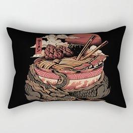 Dragon's Ramen Rectangular Pillow
